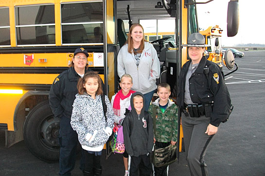 School bus safety week the vw independent for Motor coach driving jobs